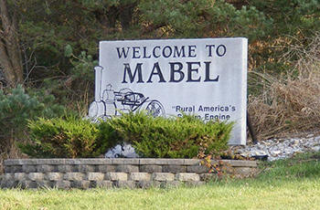 Welcome to Mabel Minnesota!