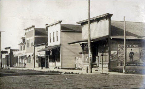 Main Street, Mabel Minnesota, 1914