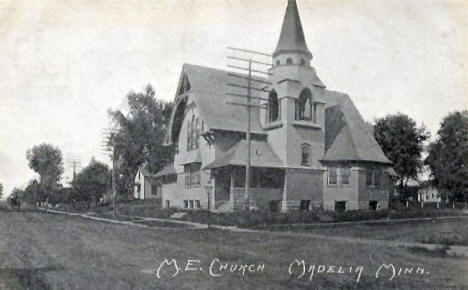 Methodist Episcopal Church, Madelia Minnesota, 1909
