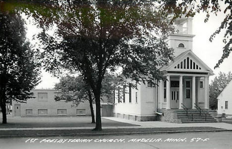 First Presbyterian Church, Madelia Minnesota, 1940's