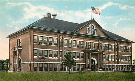 High School, Madison Minnesota, 1921