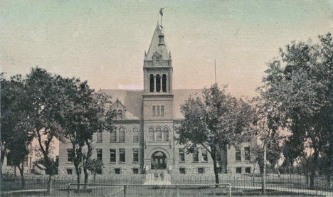 Lac Qui Parle County Court House, Madison Minnesota, 1914