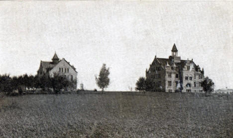 Lutheran Normal School, Madison Minnesota, 1910