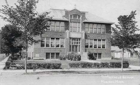 St. Michaels School, Madison Minnesota, 1930's?