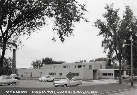 Madison Hospital, Madison Minnesota, 1950's
