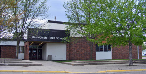 Mahnomen High School, Mahnomen Minnesota, 2008