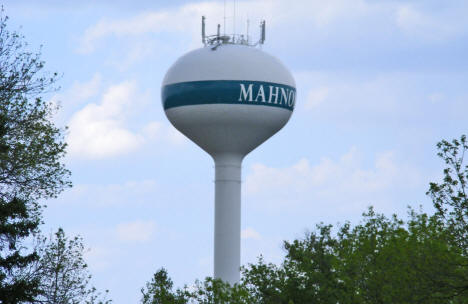 Mahnomen Water Tower, Mahnomen Minnesota, 2008
