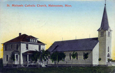St. Michaels Catholic Church, Mahnomen Minnesota, 1912