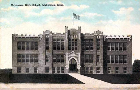 Mahnomen High School, Mahnomen Minnesota, 1915