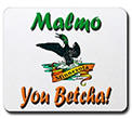 Malmo 'You Betcha' Loon Mousepad