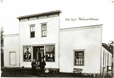 Post Office, Malmo Minnesota, 1910