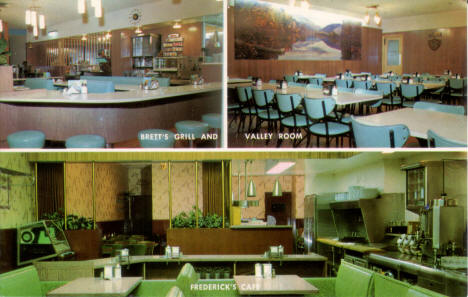Frederick's Cafe and Brett's Grill & Valley Room, Mankato Minnesota, 1960's