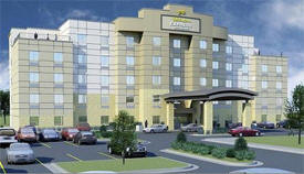 Holiday Inn Express Hotel and Suites, Mankato Minnesota