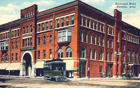 Saulpaugh Hotel Mankato Minnesota 1908