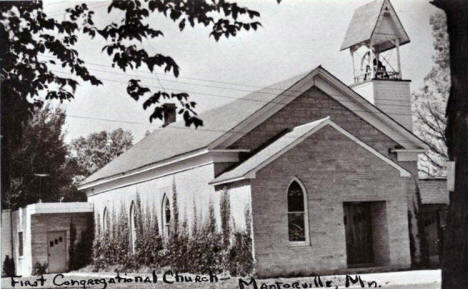 First Congregational Church, Mantorville Minnesota, 1976