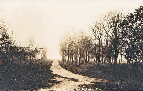 Park Avenue, Maple Lake Minnesota, 1910