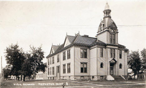 High School, Mapleton Minnesota, 1916