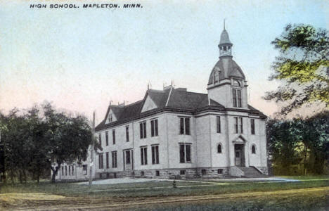 High School, Mapleton Minnesota, 1912