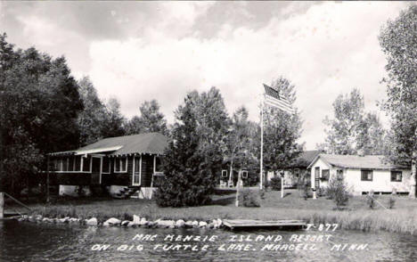 Mac Menzie Island Resort, Marcell Minnesota, 1961
