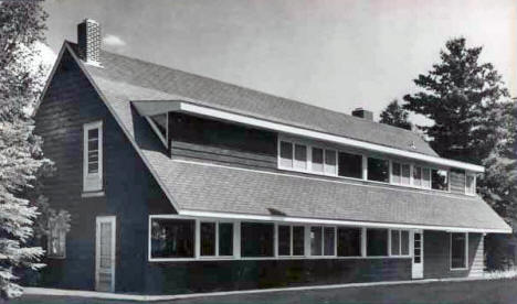 Main Building, North Star Camp, Marcell Minnesota, 1950's