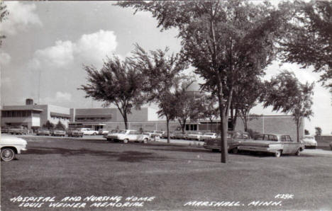 Louis Weiner Memorial Hospital and Nursing Home, Marshall Minnesota, 1960's
