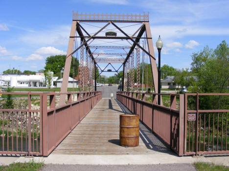 Old bridge, now used for pedestrians only, Mazeppa Minnesota, 2010