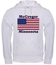 McGregor US Flag Hooded Sweatshirt