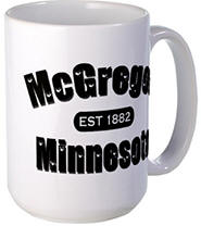 McGregor Established 1882 Large Mug