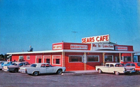 Sears Cafe, McGregor Minnesota, 1966