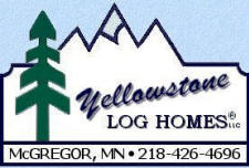 Yellowstone Log Homes, McGregor Minnesota