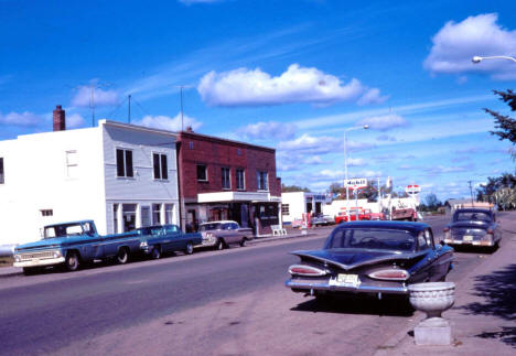 Main Street, McGregor Minnesota, 1966