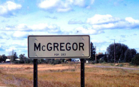 Entering McGregor, 1966