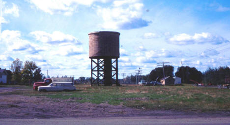 Railroad Water Tower, McGregor Minnesota, 1966