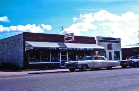 Joe's Hardware and Sporting Goods, McGregor Minnesota, 1966