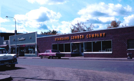 Gambles and Standard lumber Company, McGregor Minnesota, 1966