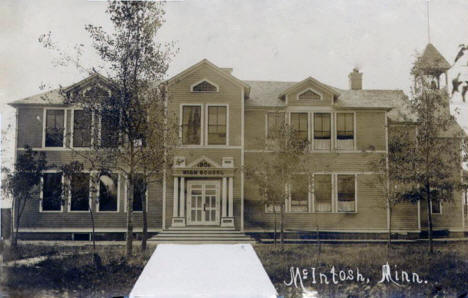 High School, McIntosh Minnesota, 1906