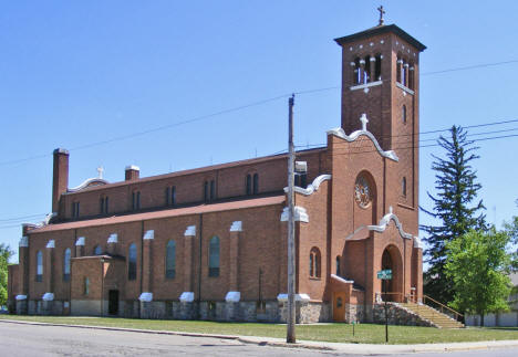 St. John the Baptist Catholic Church, Meire Grove Minnesota, 2009