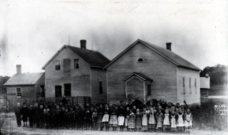 Catholic School, Meire Grove Minnesota, 1887