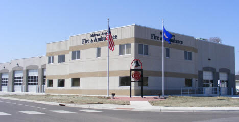 Melrose Area Fire and Ambulance, Melrose Minnesota, 2009