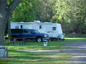 Sauk River Park Camp Grounds, Melrose Minnesota