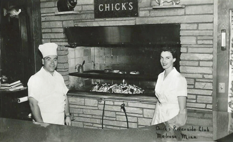 Chick's Riverside Club, Melrose Minnesota, 1950's?