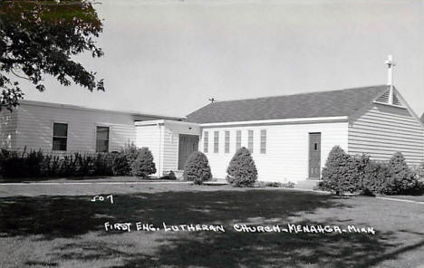 First English Lutheran Church, Menahga Minnesota, 1940's