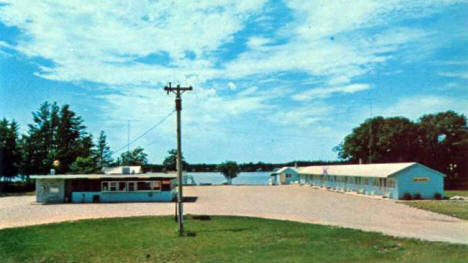 Spirit Lake Motel and Cafe, Menahga Minnesota, 1970