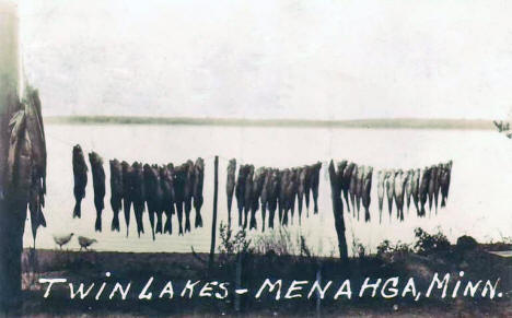 Days Catch at Twin Lakes, Menahga Minnesota, 1936