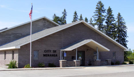 Menahga City Hall, Menahga Minnesota, 2007