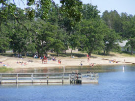 Spirit Lake Beach, Menahga Minnesota