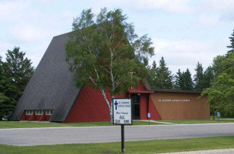 St. Joseph's Catholic Church, Middle River Minnesota, 2009