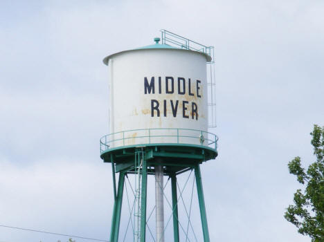Water Tower, Middle River Minnesota, 2009