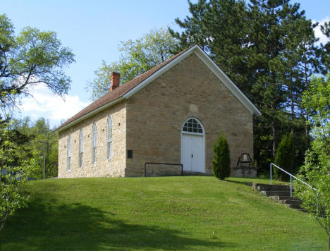 Old Swedish Evangelical Lutheran Church, Millville Minnesota, 2010