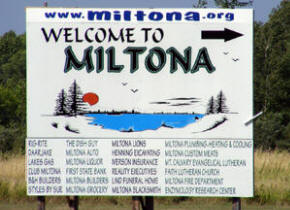 Welcome to Miltona!